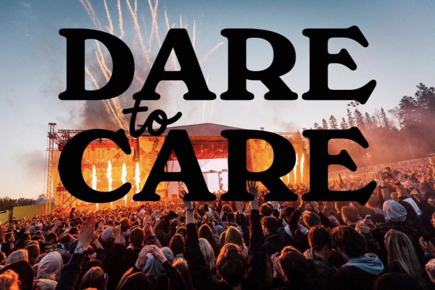 Bild och logo Dare to Care
